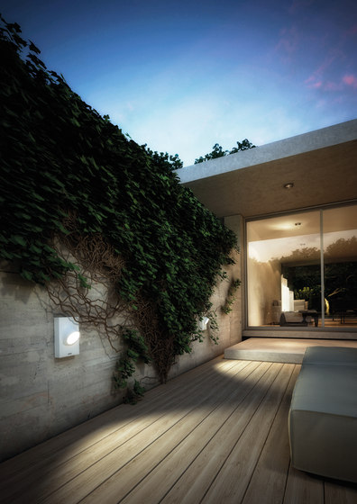 Ciclope wall by Artemide Outdoor