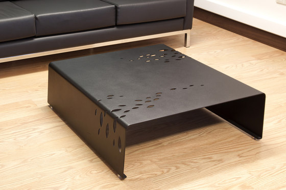 Drop 40x65 Service Coffee Table with Castors by Nurus