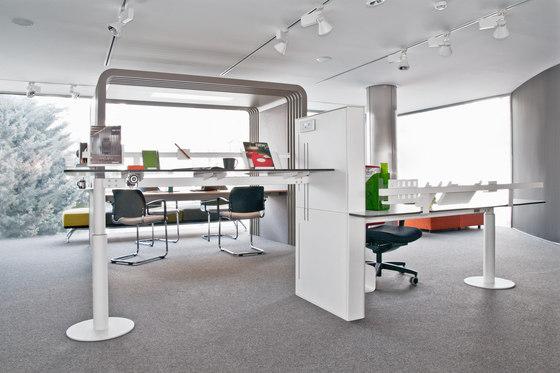 Faces Double Desk by Nurus