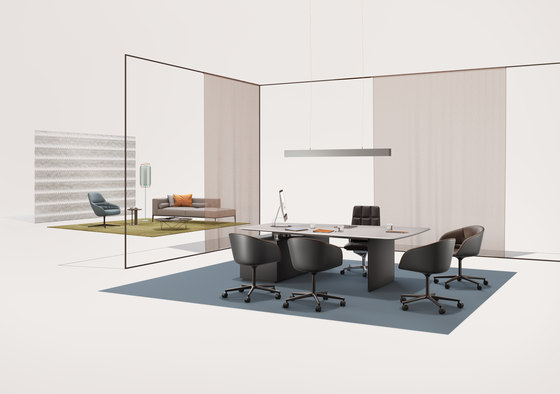 kyo bucket seat conference chairs from walter knoll architonic. Black Bedroom Furniture Sets. Home Design Ideas