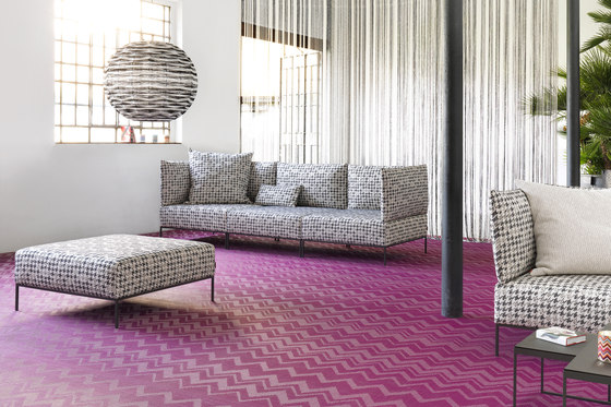 Missoni Zigzag Aubergine by Bolon