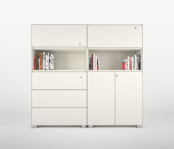 Primo Modular Elements | Open unit on both side de Dieffebi