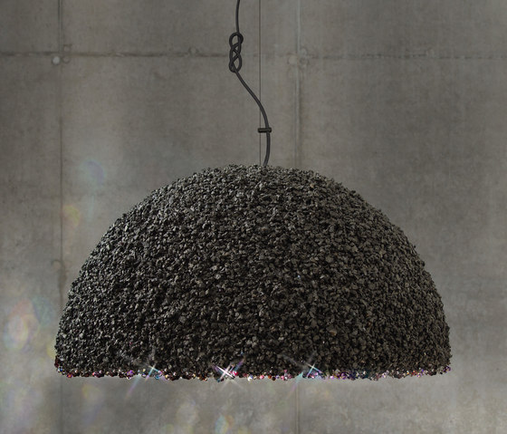 The Duchess pendant lamp grey large by mammalampa