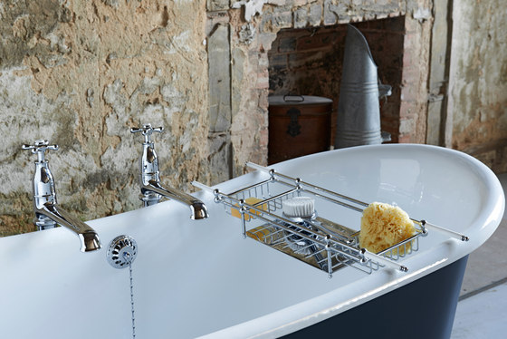 Classic Bath Mixer with lever handles by Drummonds