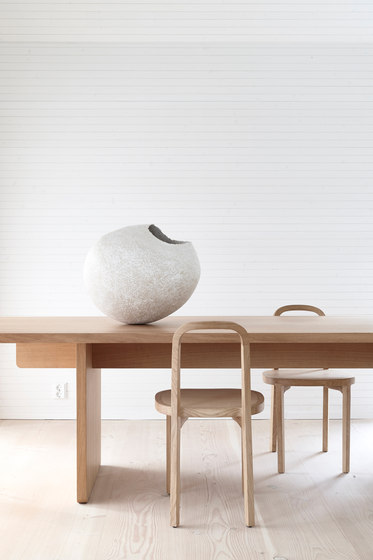 Siro+ | Chair with Armrests | oak de Woodnotes
