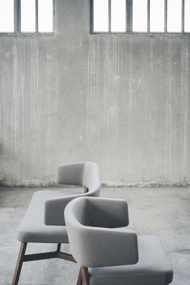 Croissant sofa by Billiani