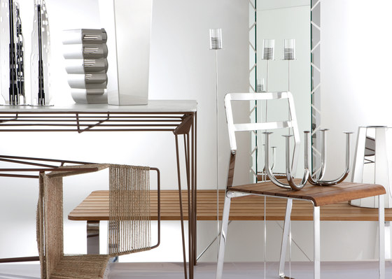 Wired chair by Forhouse