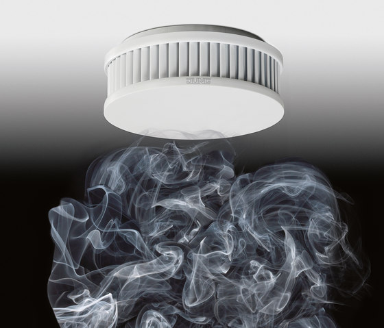 Warning smoke detectors de JUNG