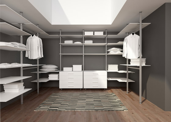 Epomeo | Walk-in Wardrobe de Aico Design