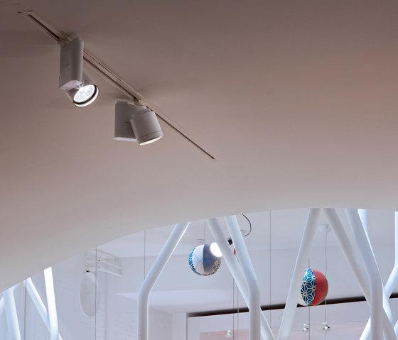 Pure spot von flos pure 1 spot ceiling cdm tm pure 1 for Faretti flos