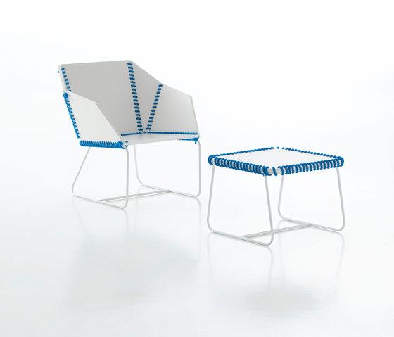 Textile Sessel von GANDIABLASCO