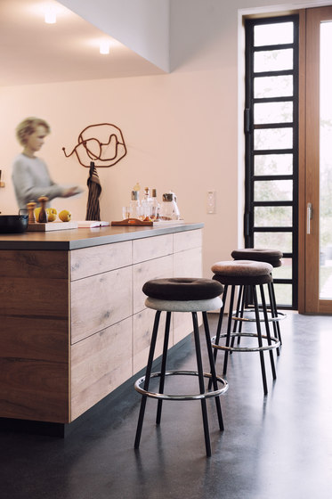 Big Tom bar stool de Lampert