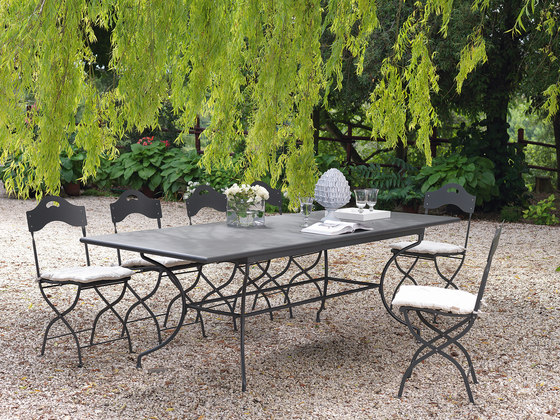 Stunning Table De Jardin Ronde Unopiu Photos - House ...