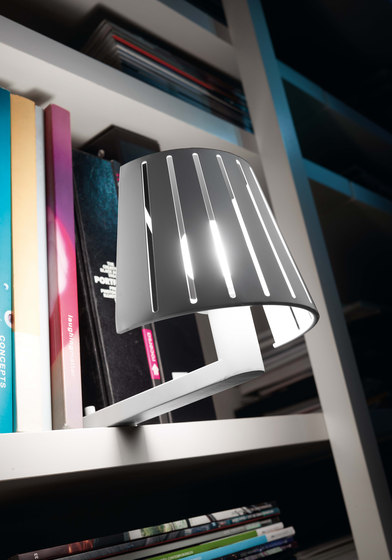 Mix wall lamp with reader by Faro