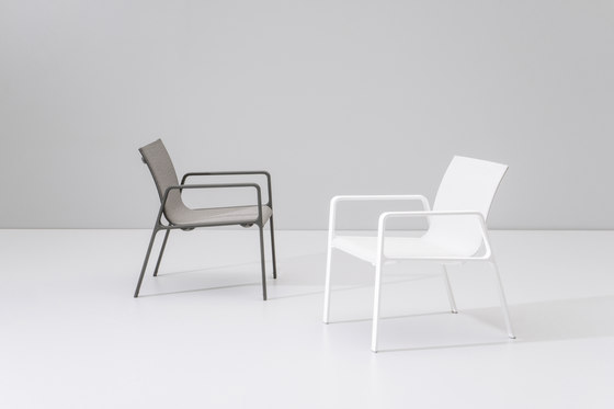 Park Life low dining armchair by KETTAL
