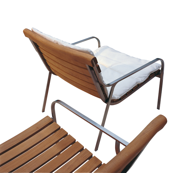 Equinox Chaise longue by Unopiù