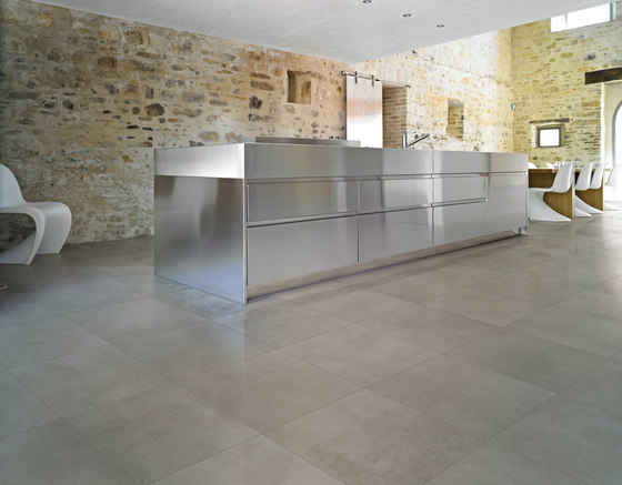 Industrial Decoro B - Plomb|Steel di Floor Gres by Florim