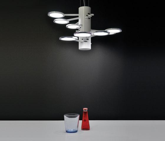 3x3 MACH 9  S – OLED-pendant by Bernd Unrecht lights