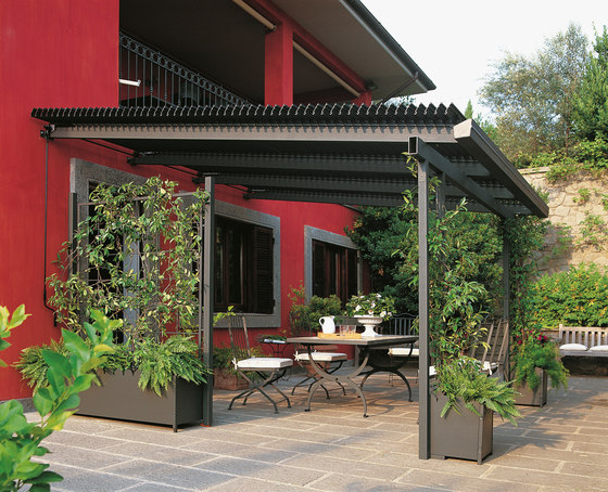 meridienne by unopi pergola product. Black Bedroom Furniture Sets. Home Design Ideas