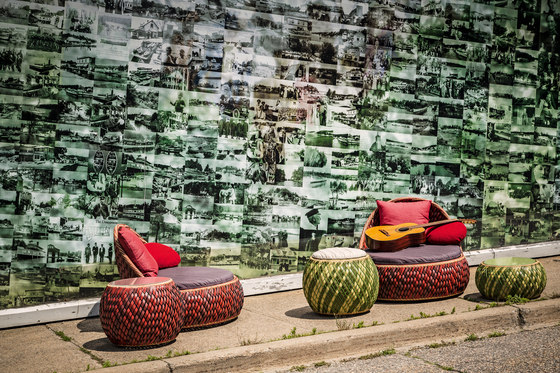 Dala Lounge chair di DEDON