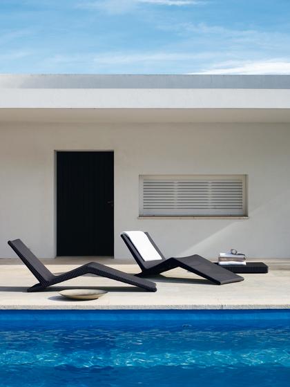 Sunlace Chaise-longue di Unopiù