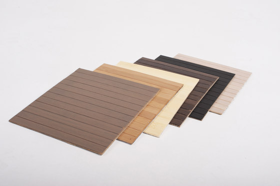 Unibamboo plainpressed taupe by MOSO bamboo products