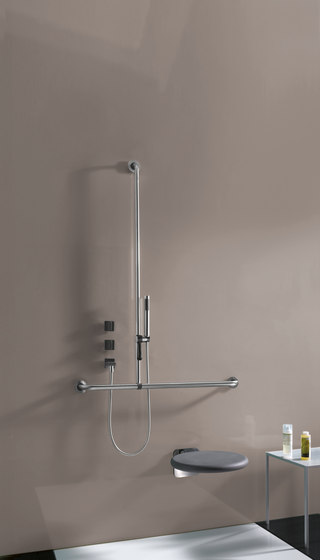 FSB ErgoSystem® E300 Wall-mounted drop-down support rails di FSB