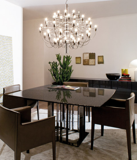 Charlie mesa mesas para restaurantes de meridiani for Catalogo meridiani