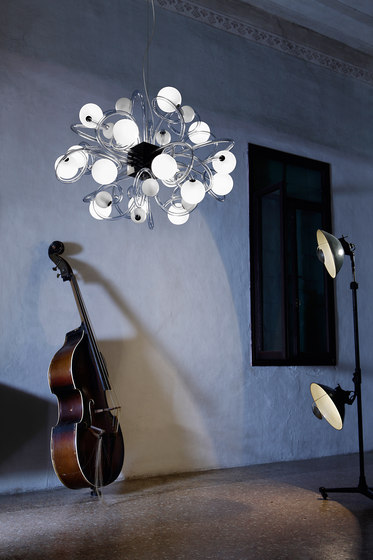 Bon Ton Hanging Lamp by ITALAMP