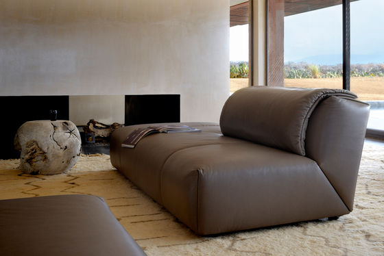 Agadir Sectional Sofa by Fendi Casa