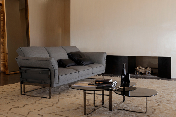 Metropolitan 3 Seater Sofa by Fendi Casa