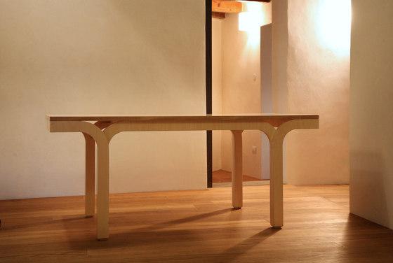Tavolo Wood by Morelato