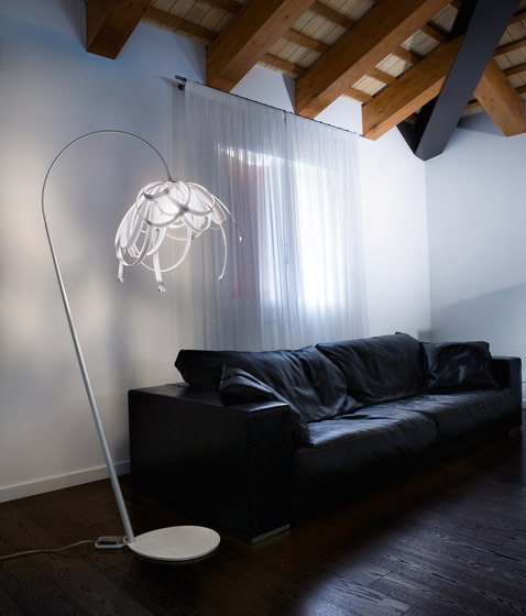 Fan Table Lamp by ITALAMP
