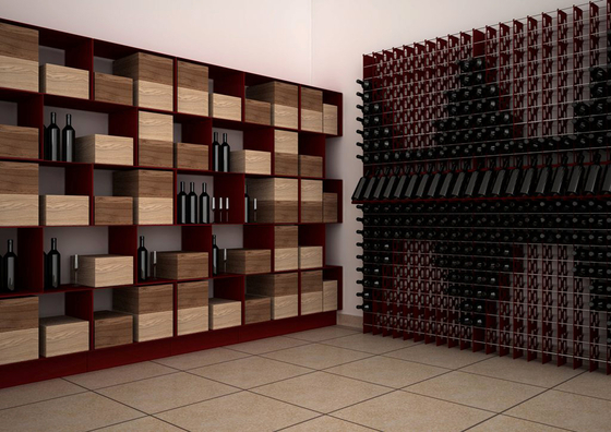 Esigo 2 Box Wine Rack de ESIGO