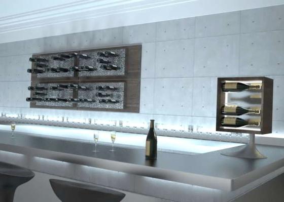 Esigo 6 Wine Rack by ESIGO