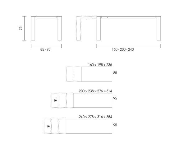 Dimensioni tavolo da cucina tavoli in legno massiccio - Epierre