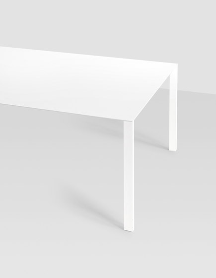 Thin-K Longo wood table by Kristalia