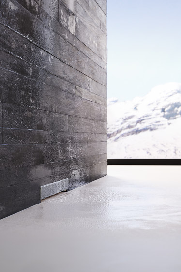 Geberit wall drain for showers by Geberit