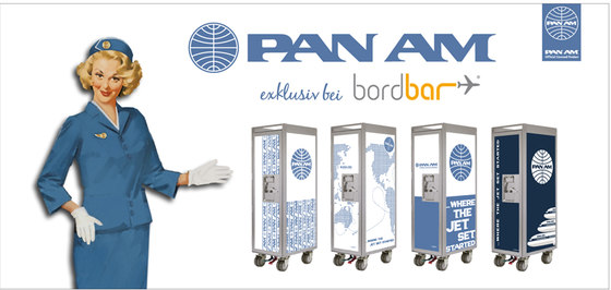 bordbar Pan Am edition worldmap de bordbar