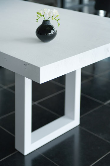 X-Type dining table by Van Rossum