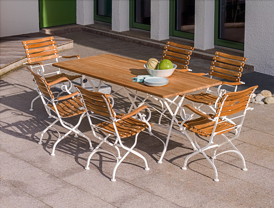 Classic Bench 3-Seater by Weishäupl