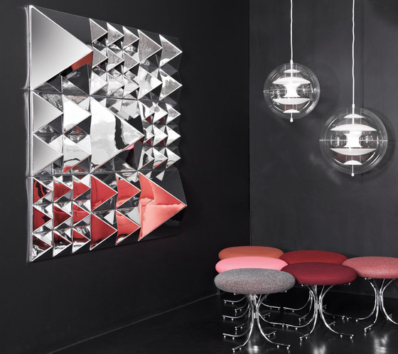 Mirror Sculptures | Wall Decoration by Verpan