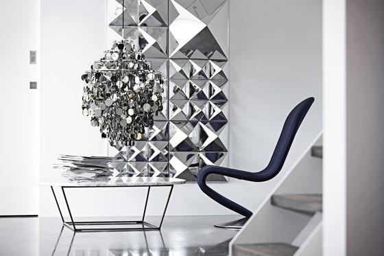 Mirror Sculptures | Wall Decoration de Verpan