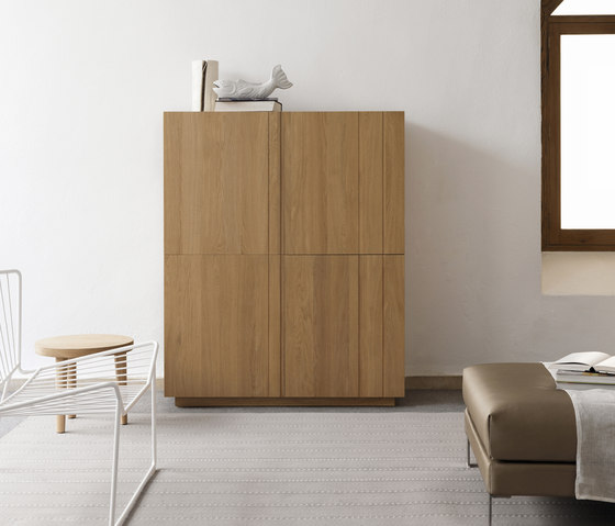 Solid Sideboard 3 doors by Expormim