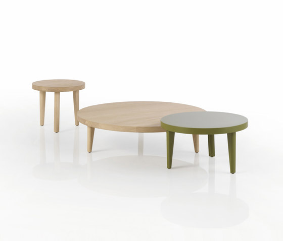 Trio Table basse ronde de Expormim