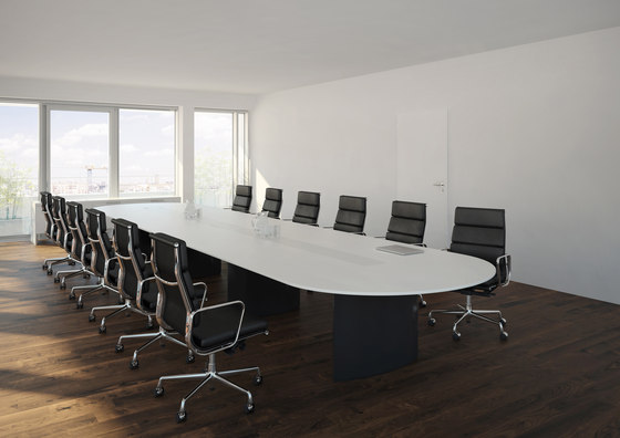 C3 Customized conference table system by Holzmedia