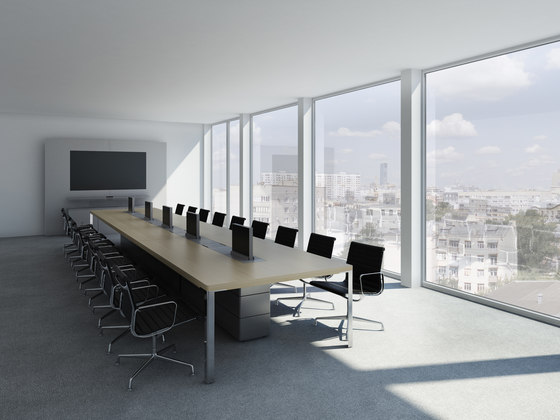 C8 Conference table by Holzmedia