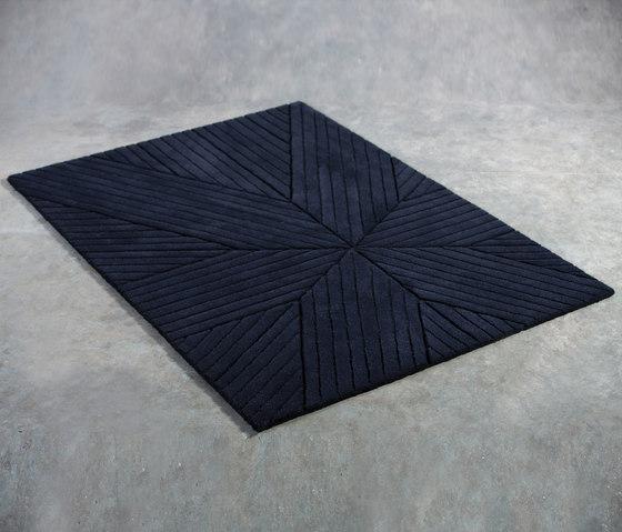 Nota Rug Dark Grey Round by Artisan