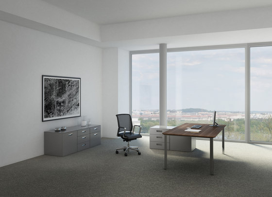 D1 Desk system by Holzmedia