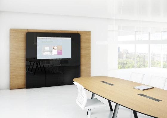 W4 Media wall by Holzmedia